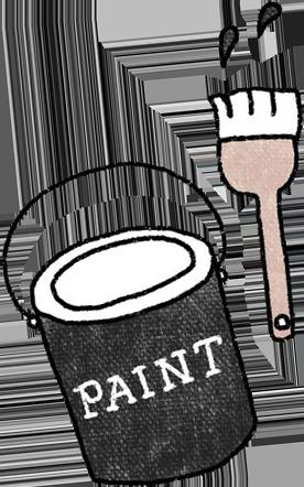 ペンキ缶画像